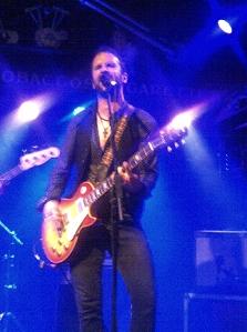 John Angus MacDonald, Bootleggers, Kendal, UK, Oct. 30/11 (cell phone pic)
