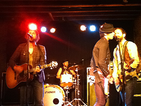 The Trews, Uncle Slayton's, Louisville, KY, Nov. 19/11.