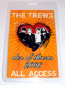 Laminated 2006 Den Of Thieves All Access pass