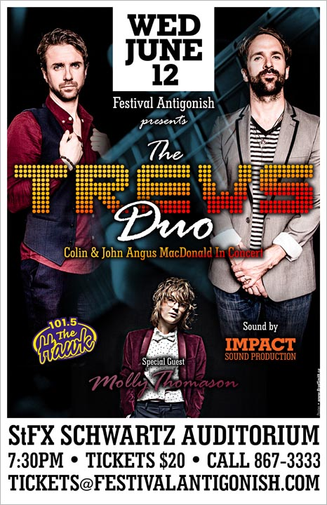 Trews Duo with Molly Thomason poster