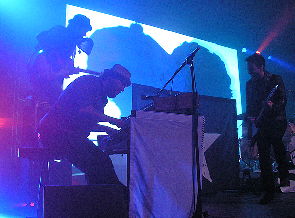 John Angus, Jeff and Colin - silhouette