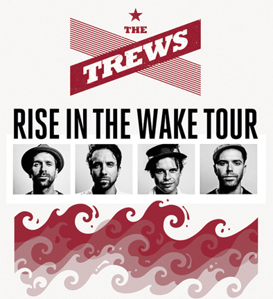 Rise In The Wake tour poster top