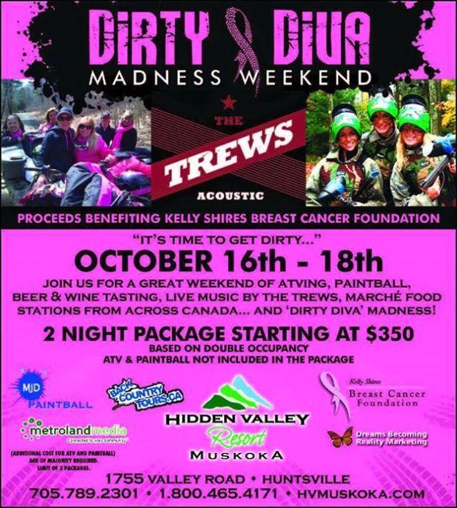 Dirty Divas Weekend poster