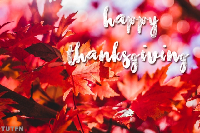 Happy Thanksgiving to all our fellow Canadians, wherever you may be. Sincerely grateful today for your time with us, and to The Trews, who brought us all together in the first place. Safe travels, great food, inspiring companionship, and love, laughter and light to you all. Thank you. -sv