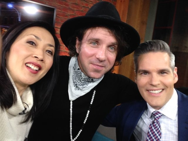Colin with hosts of CP24