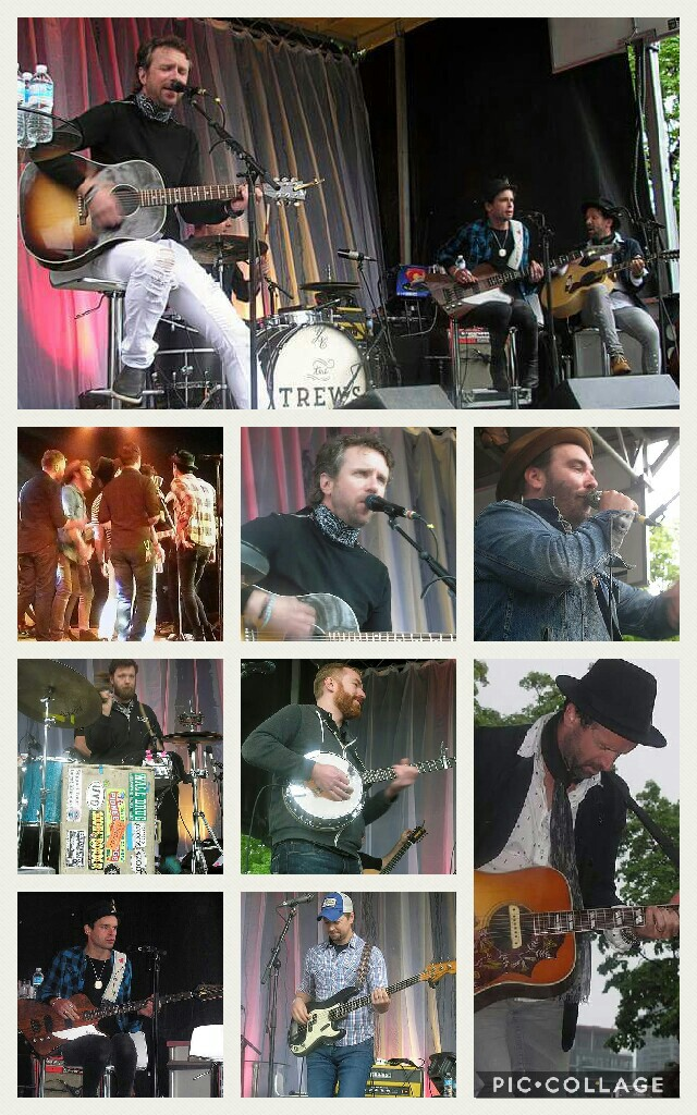 The Trews and Red Wanting Blue concert photos