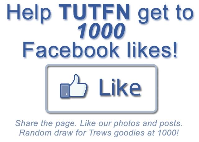 Help TUTFN get 1000 Facebook likes!